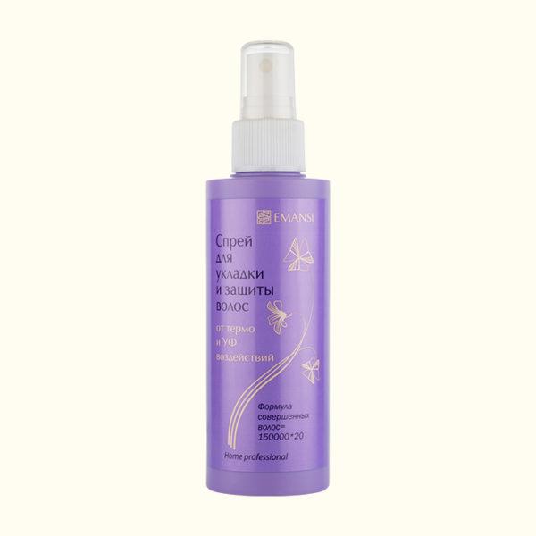 эманси, emansi, спрей для волос, спрей для термозащиты волос, спрей для укладки волос, для защиты волос от солнца