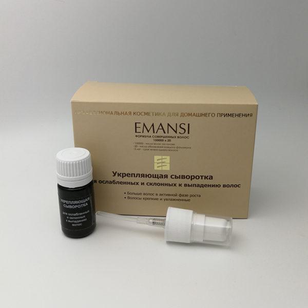 эманси, emansi, укрепляющая сыворотка, сыворотка от выпадения волос