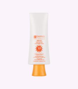 SPF30, защита от солнца, защита от УФ-лучей, emansi, для лица от солнца, эмульсия от солнца, эманси