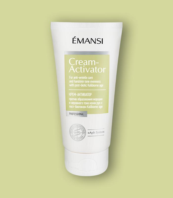 крем для рук, для рук с пост-биотиком Kalibiome sensitive, ламеллярный крем, антивозрастной крем для рук, эманси, emansi